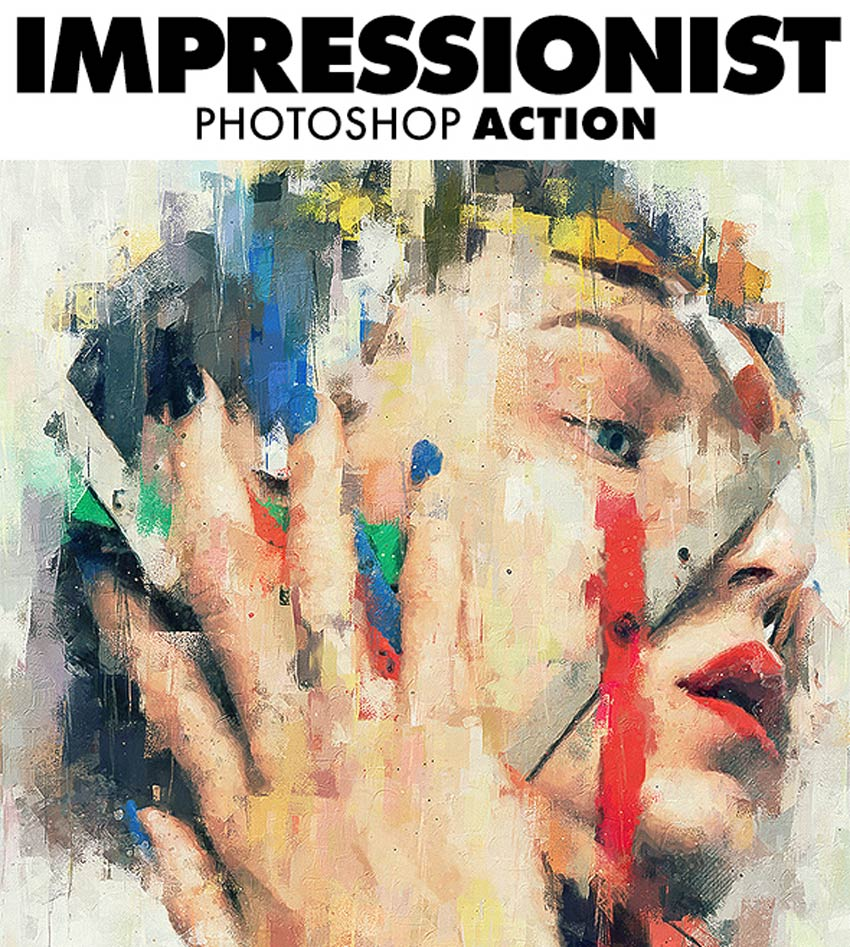Impressionist Photoshop Action