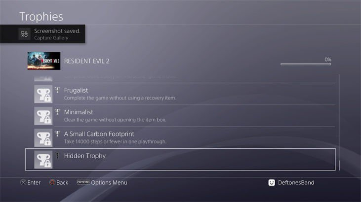 resident-evil-2-trophy-list-carbon-footprint