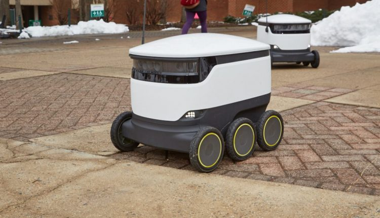 Starship, Sodexo Launch Food Delivery via Robots