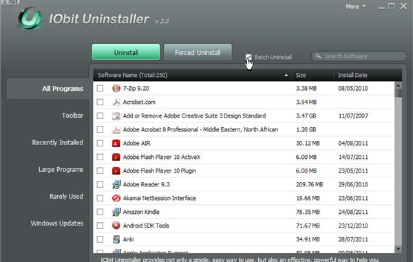 Using Third-Party Uninstaller