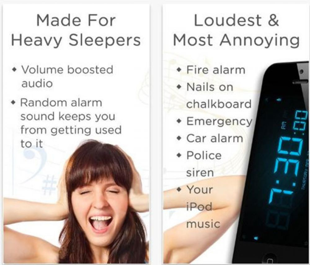 Loud Alarm Clock (Free, iOS)