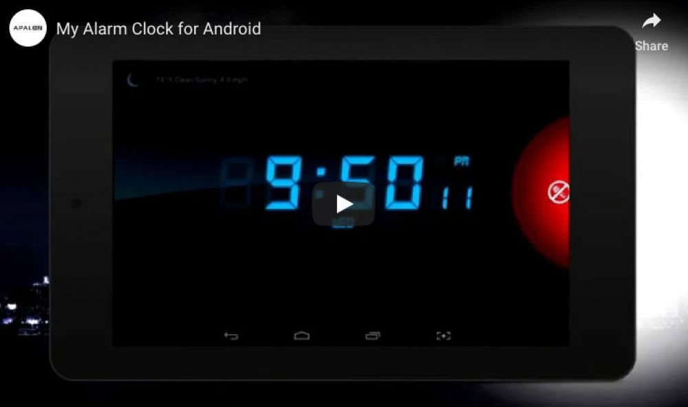 Alarm Clock for Me (Free, iOS or Android)