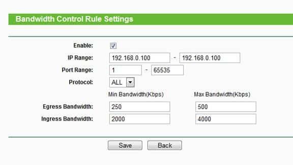 Limit Internet Bandwidth Of WiFi Users