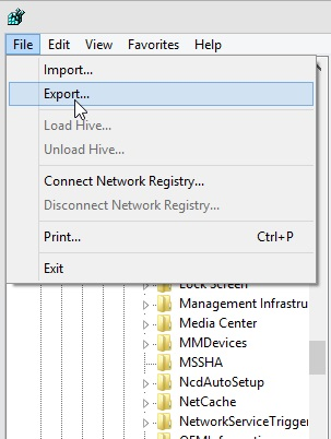 How you can Backup and Restore Registry Settings in Windows PC