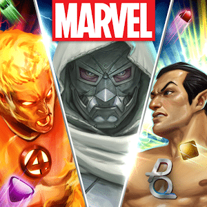 Marvel Puzzle Quest - Top 10 Best Superhero Games For Android