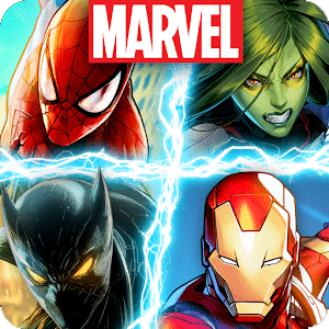 MARVEL Battle Lines - Top 10 Best Superhero Games For Android