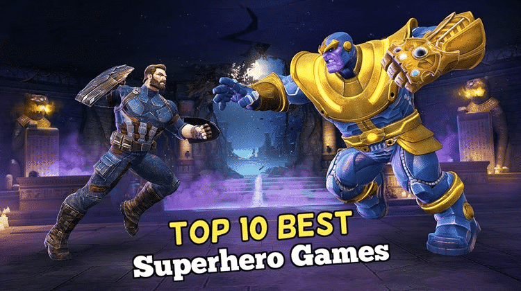 Top 10 Best Superhero Games For Android