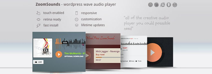 ZoomSounds audio player plugin