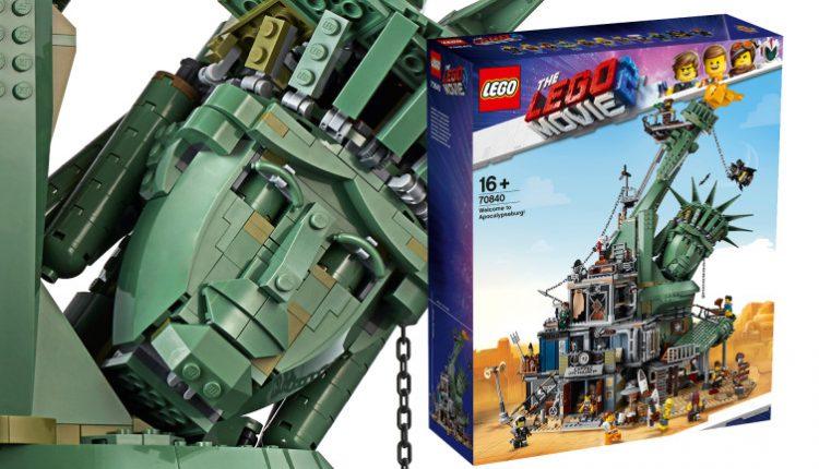 Apocalypseburg Is The Biggest Lego MovieSet Yet