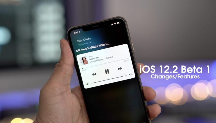 Apple releasing first iOS 12.2 public beta later today