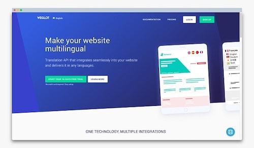 Wordpress Multilingual Weglot