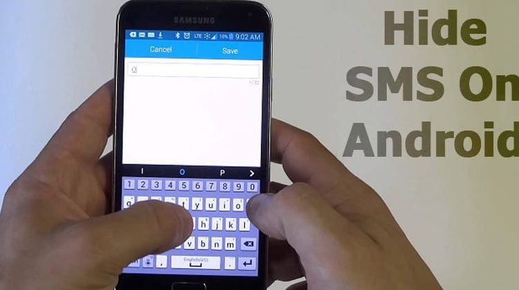 Conceal SMS On Android to Hold Your Messages Personal