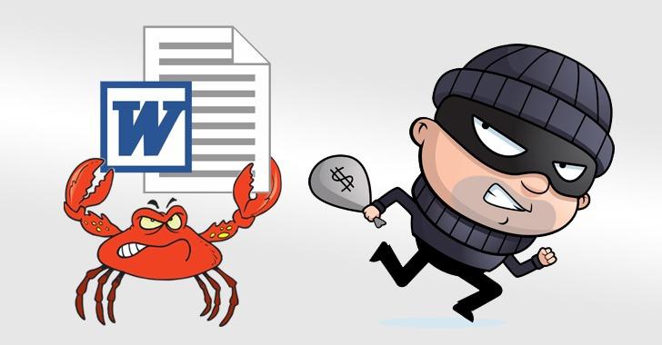 GandCrab ransomware & Ursnif virus spreading