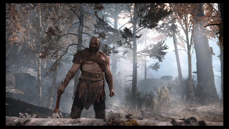 Look! Kratos isn't yelling!
