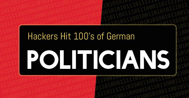 Hackers Leak Personal Data from German Politicians On Twitter