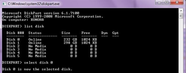 Solve Windows cannot be Installed on this Disk Error