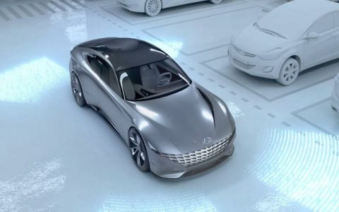 Hyundai and Kia unveil driverless car charging and parking concept