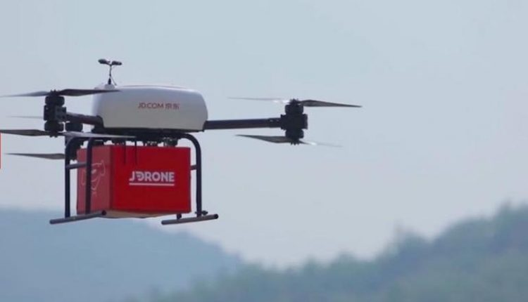 JD launches good supply stations for drones