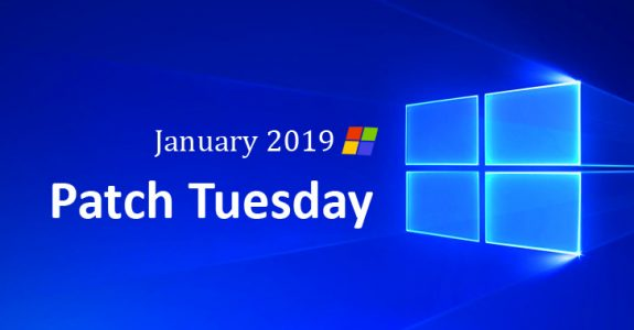 Microsoft Patch January 2019 Security Updates
