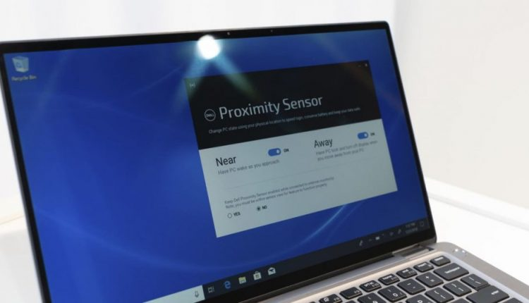 New Dell laptop can detect your presence