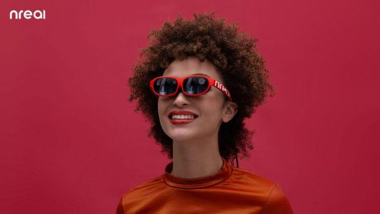 Nreal mild AR and MR Sensible Glasses Prepared for Viewing