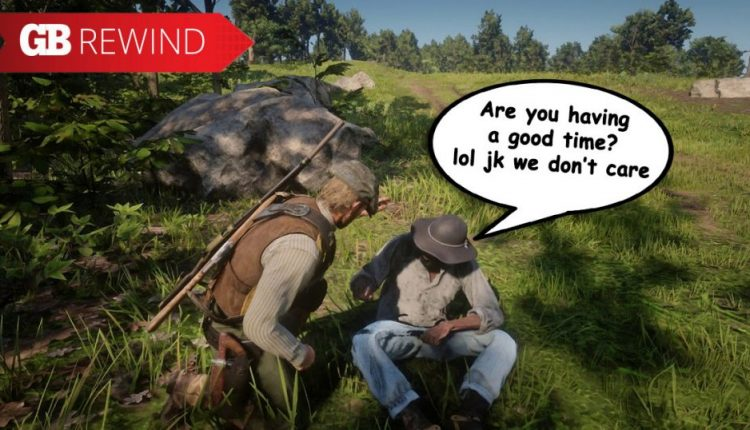 Red Dead Redemption II wins the Terrible Date Award