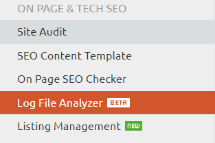 Log File Analyzer