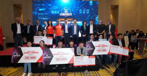 Silicon Valley trip & CIMB job offer for 3D Conquest winners