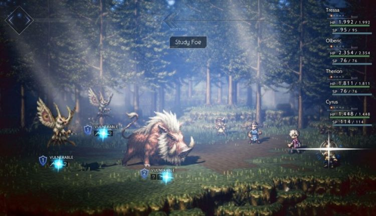 Square Enix trademarks 2D art style for future Switch games