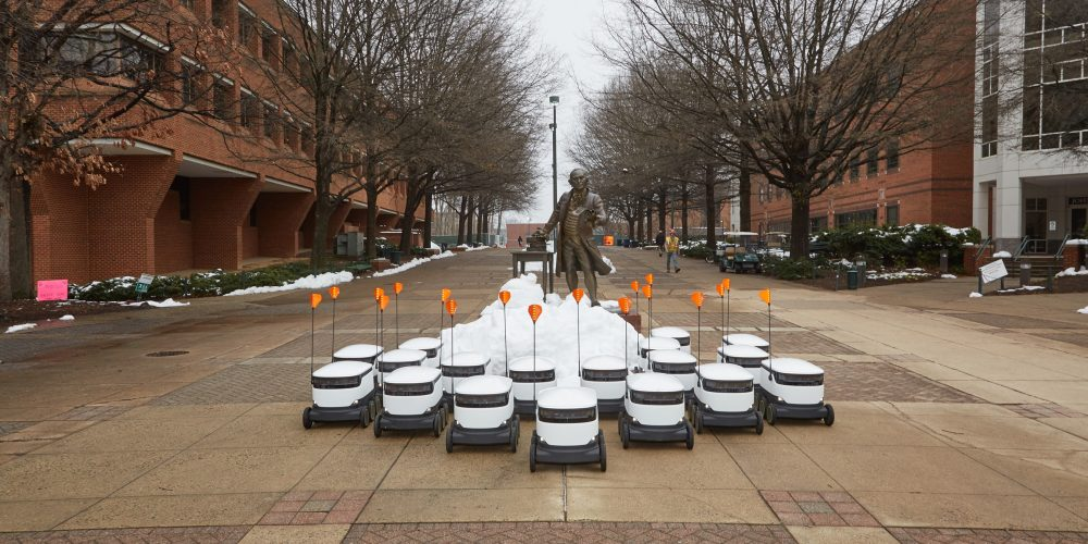 Starship, Sodexo Launch Food Delivery via Robots at George Mason University