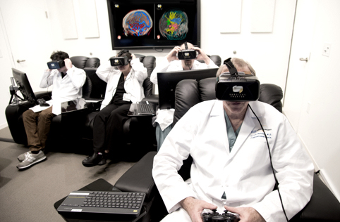 Surgeons View Detailed 3D VR