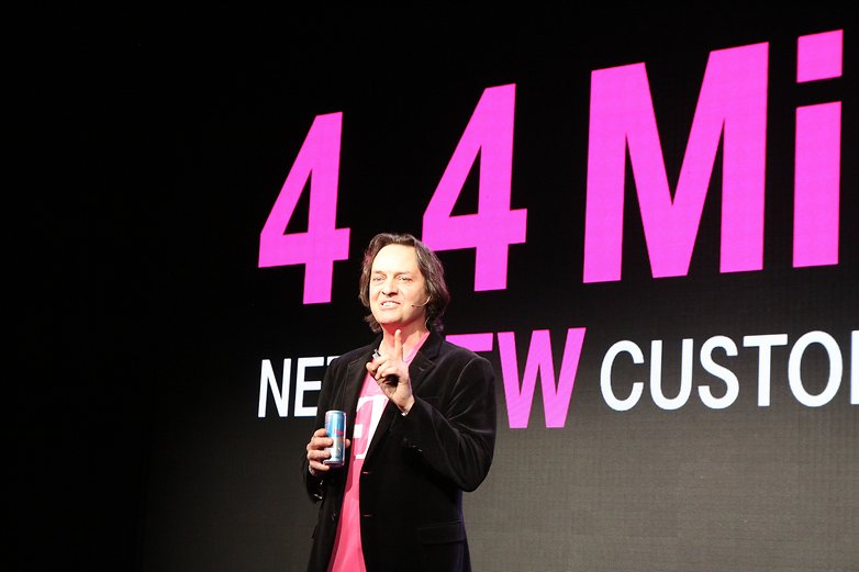 T Mobile John Legere at CES14