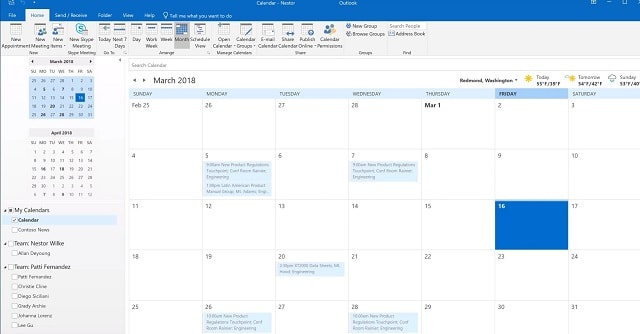 What is Microsoft Outlook Calendar