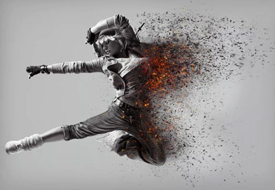 22 Best Photoshop Dispersion Effects to Disintegrate Photos in Style