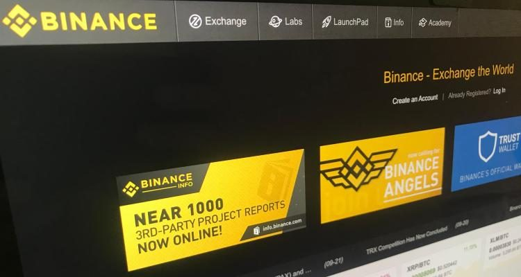 Binance now lets users buy crypto with a credit card