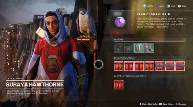 hawthorne clan bounties