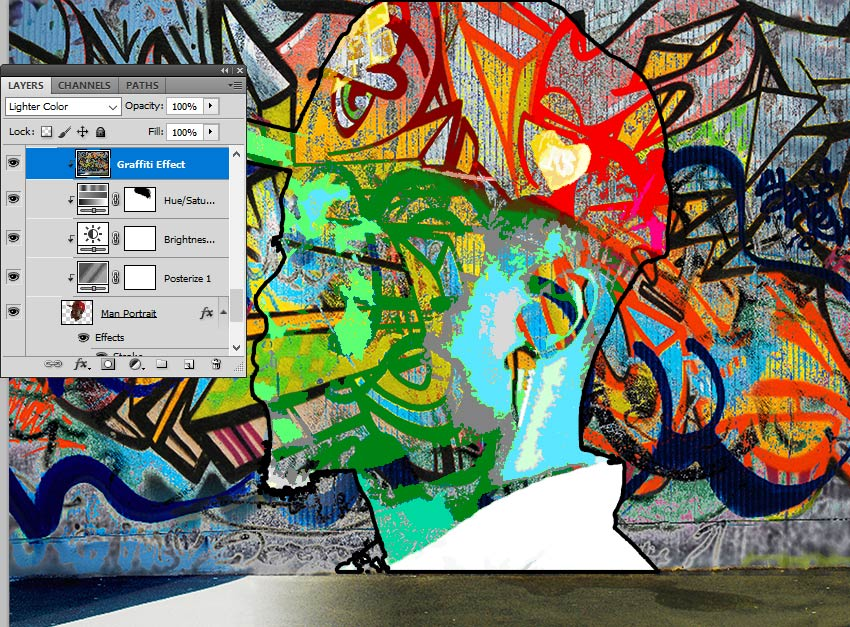 Blend Mode Lighter Color in Photoshop