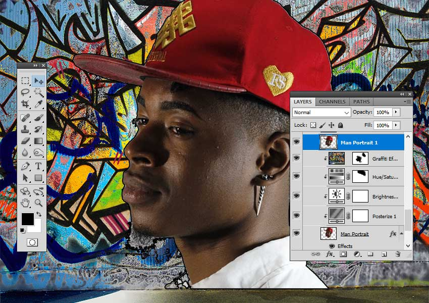 Show Layer in Photoshop