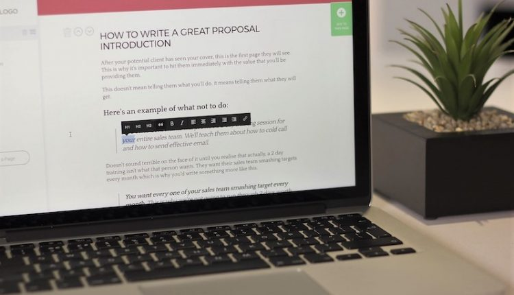 7 Reasons Why Proposal Software Will Boost Your Sales