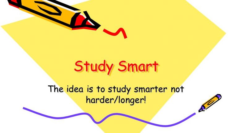 A student guide on how to study smarter