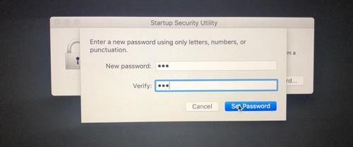 Firmware Password Mac Enter Password