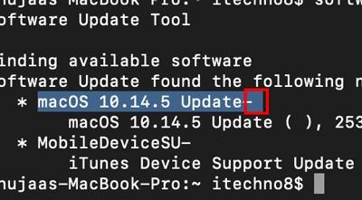 Update Mac Using Terminal Space