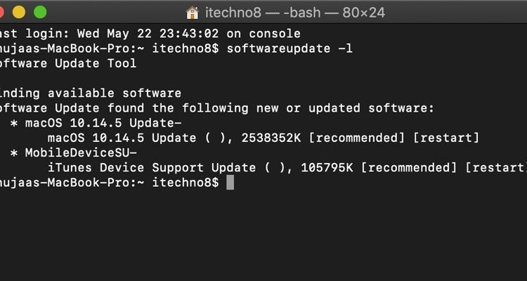 How to Update Your Mac Using Terminal