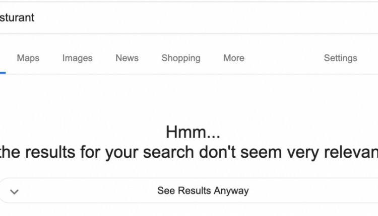 Google Search experiments with showing less relevant search results when requested