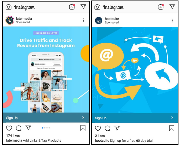End Instagram posts with a call to action