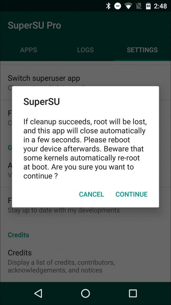 Unroot Any Android Device In Single Click