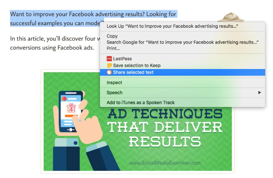 Social Media Poster Chrome extension