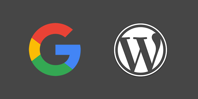 Google and WordPress