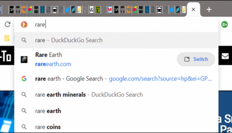 How to Search for Open Tabs on the New Tab Page of Chrome
