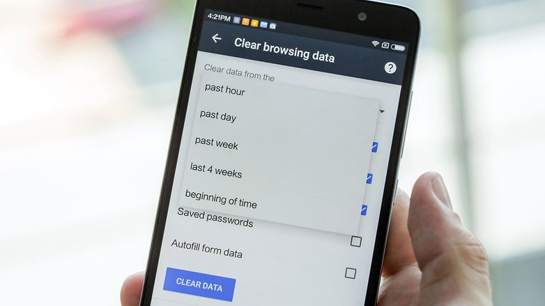 androidpit android clear browsing data on mobile